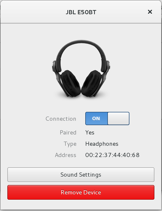 Bluetooth drivers for Debian Linux JBL